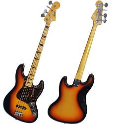 TEISCO Jazz Bass, Sunburst, Japan